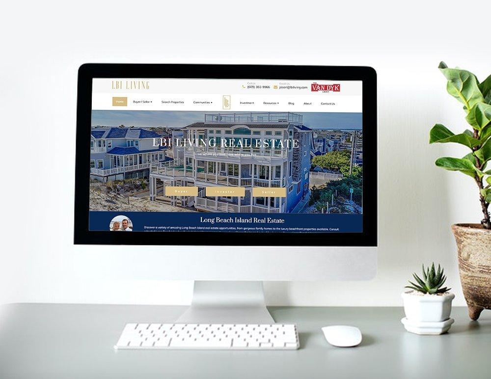 LBI Living website banner - Jives Media